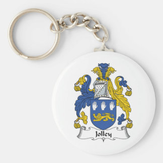 Escudo de la familia de Jolley Llaveros