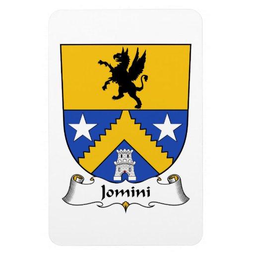 Escudo de la familia de Jomini Iman Rectangular