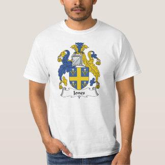 Escudo de la familia de Jones Camisas