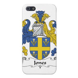 Escudo de la familia de Jones iPhone 5 Fundas