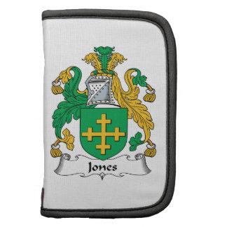 Escudo de la familia de Jones Planificador