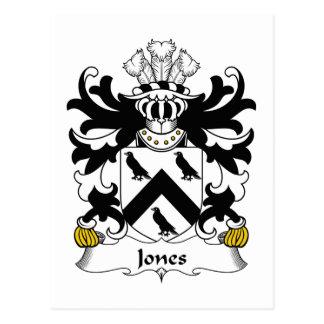Escudo de la familia de Jones Postal