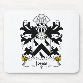 Escudo de la familia de Jones Tapete De Raton