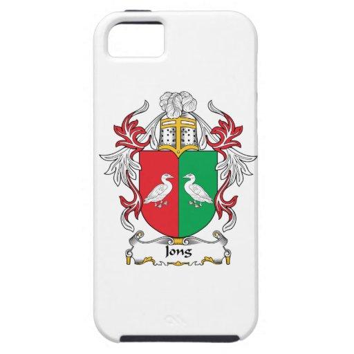 Escudo de la familia de Jong Funda Para iPhone 5 Tough