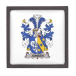 Escudo de la familia de Jonsen Caja De Joyas De Calidad