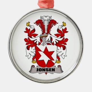 Escudo de la familia de Jonsen Ornaments Para Arbol De Navidad