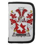 Escudo de la familia de Jonsen Planificador