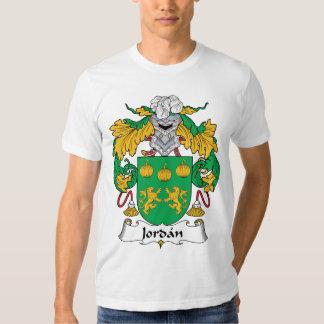 Escudo de la familia de Jordania Camisas