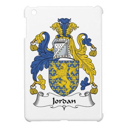 Escudo de la familia de Jordania iPad Mini Carcasa