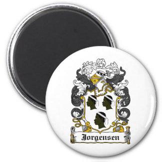 Escudo de la familia de Jorgensen Imán Redondo 5 Cm
