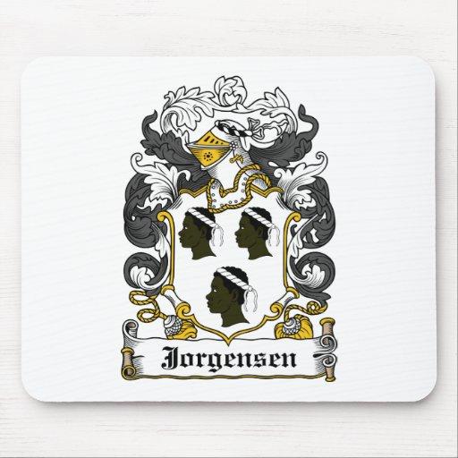 Escudo de la familia de Jorgensen Alfombrilla De Raton