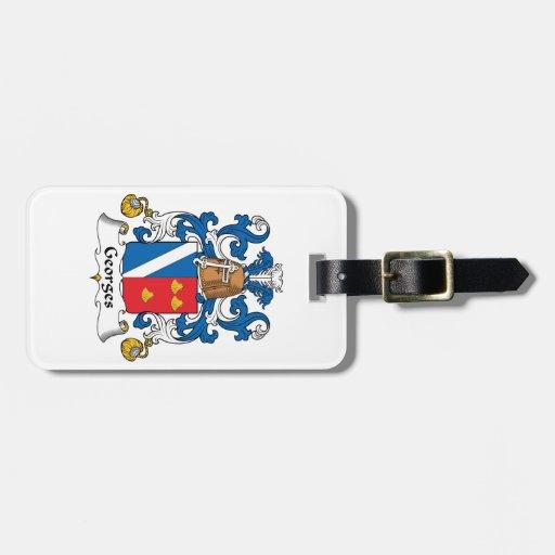 Escudo de la familia de Jorte Etiquetas Bolsa