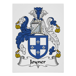 Escudo de la familia de Joyner Impresiones