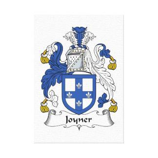 Escudo de la familia de Joyner Lona Estirada Galerías