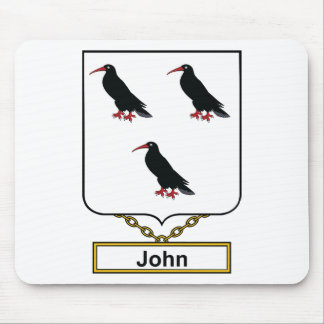 Escudo de la familia de Juan Mousepads