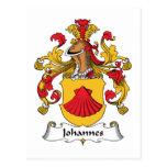 Escudo de la familia de Juan Postal