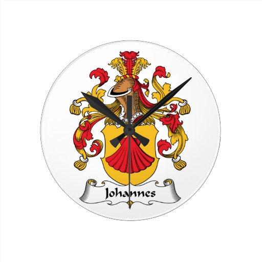 Escudo de la familia de Juan Relojes