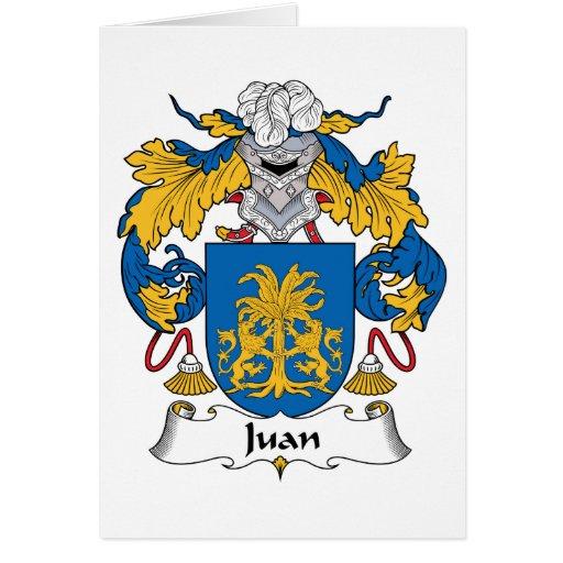 Escudo de la familia de Juan Tarjeton