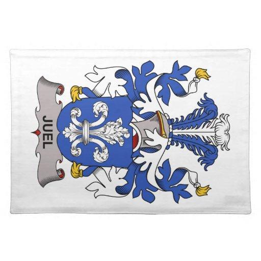 Escudo de la familia de Juel Mantel