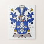Escudo de la familia de Juel Puzzle