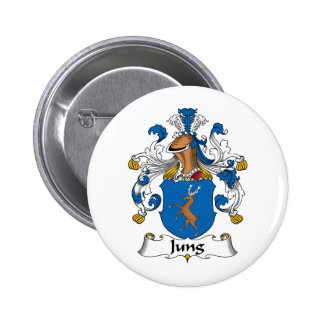 Escudo de la familia de Jung Pin Redondo 5 Cm