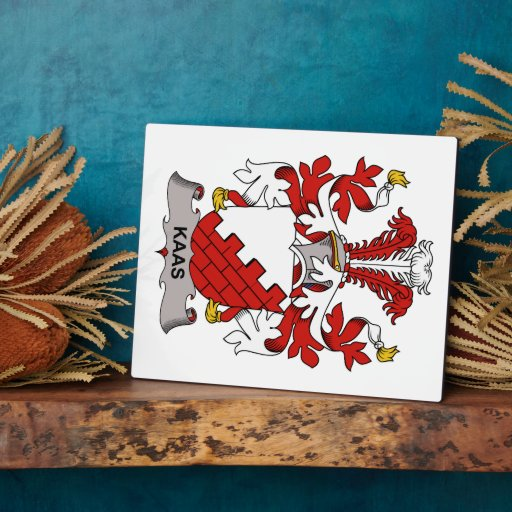 Escudo de la familia de Kaas Placas Para Mostrar