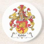 Escudo de la familia de Kahler Posavasos Personalizados