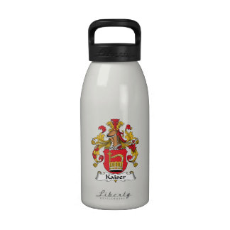 Escudo de la familia de Kaiser Botella De Agua