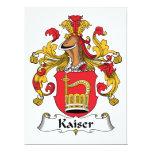 Escudo de la familia de Kaiser Comunicados