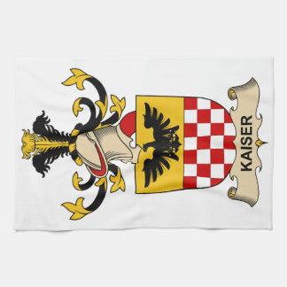 Escudo de la familia de Kaiser Toallas De Mano
