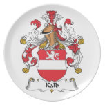 Escudo de la familia de Kalb Plato De Comida