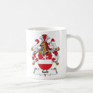 Escudo de la familia de Kalb Taza De Café