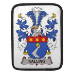 Escudo de la familia de Kalling Fundas Para iPads