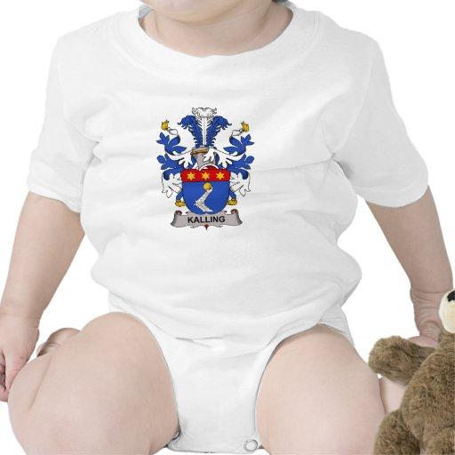 Escudo de la familia de Kalling Traje De Bebé