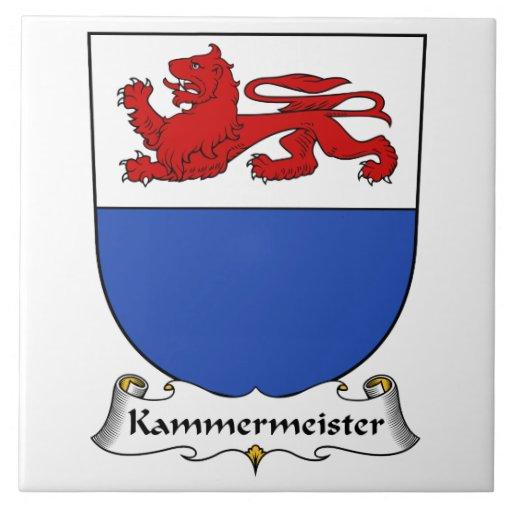 Escudo de la familia de Kammermeister Azulejos Ceramicos