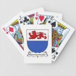 Escudo de la familia de Kammermeister Baraja Cartas De Poker