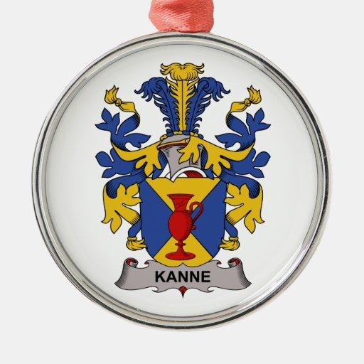 Escudo de la familia de Kanne Ornaments Para Arbol De Navidad