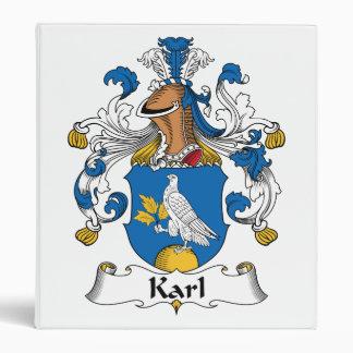 Escudo de la familia de Karl