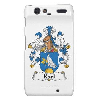 Escudo de la familia de Karl Motorola Droid RAZR Carcasa