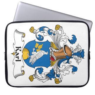 Escudo de la familia de Karl Manga Portátil