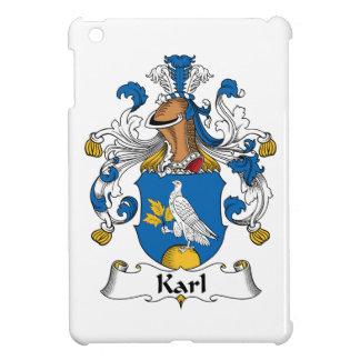Escudo de la familia de Karl iPad Mini Protector