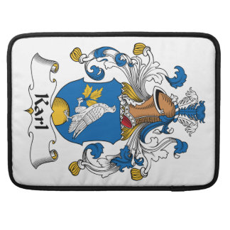 Escudo de la familia de Karl Funda Para Macbooks