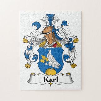 Escudo de la familia de Karl Rompecabeza