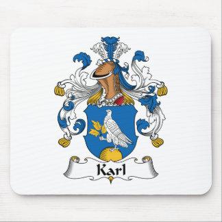 Escudo de la familia de Karl Alfombrillas De Ratón