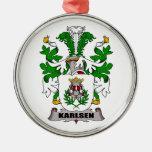Escudo de la familia de Karlsen Adorno De Reyes