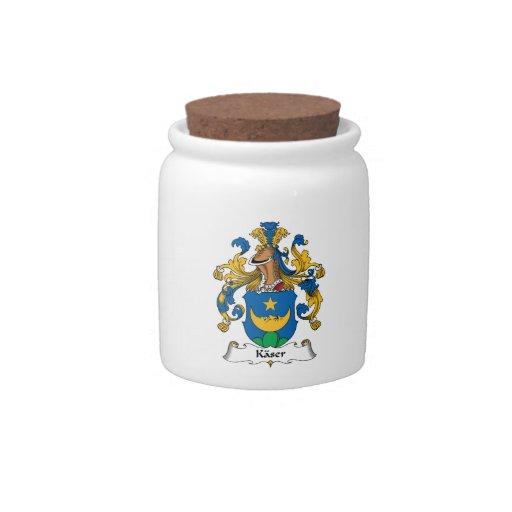 Escudo de la familia de Kaser Jarras Para Caramelos