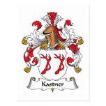 Escudo de la familia de Kastner Postal