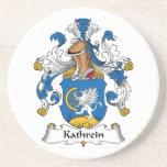 Escudo de la familia de Kathrein Posavasos Para Bebidas
