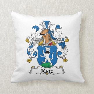 Escudo de la familia de Katz Cojin