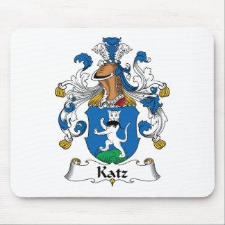 Escudo de la familia de Katz Alfombrilla De Ratón